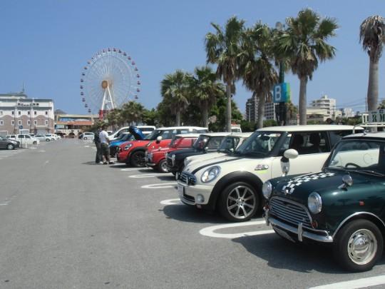 4月のOMCミーティング&ドライブ・・・new MINI Day