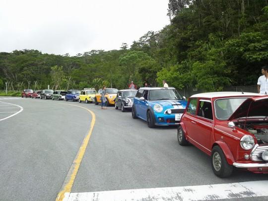 6月のOMCミーティング&ドライブ・・・Mini 大試乗会in安波ダム