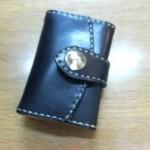 レザークラフト/名刺&コインケース(型紙無料ダウンロード)