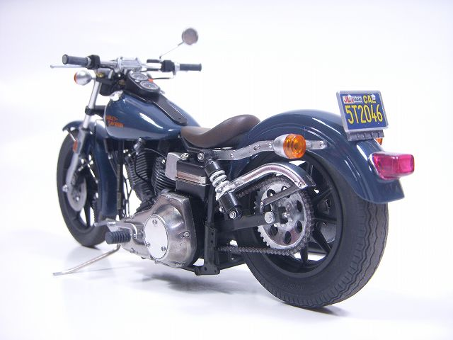 プラモデル / Harley FXS LowRider (ハーレーFXSローライダー)完成♪