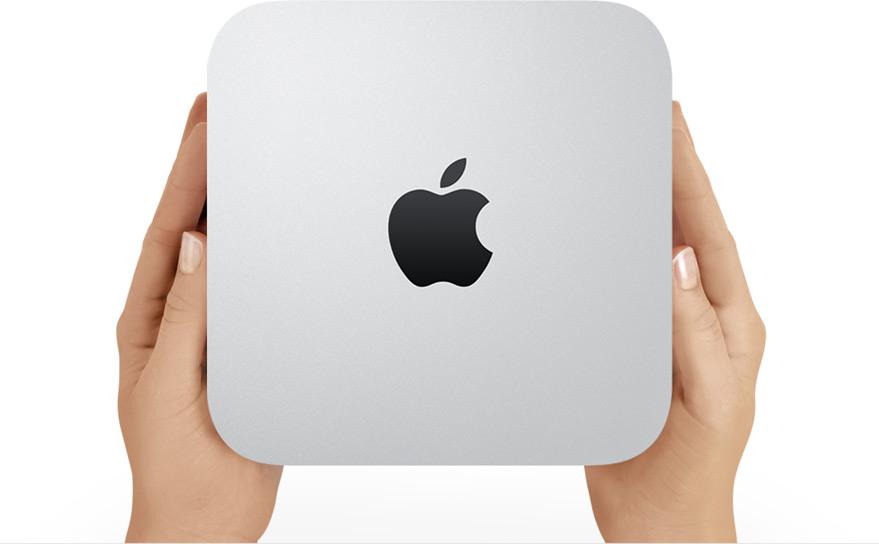 買ってきたMac mini OSX10.8 Mt Lion の箱の中身は