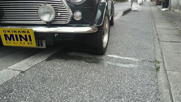 ローバーミニのラジエーター液漏れ&DIY補修
