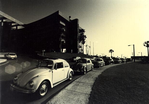 80年代の懐かしい沖縄ワーゲンクラブツーリング風景