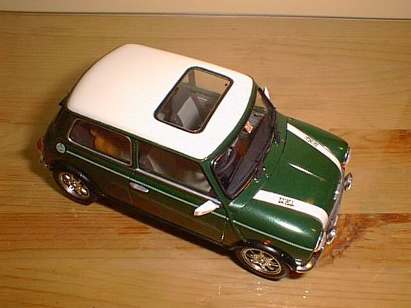 ローバーミニのプラモデル