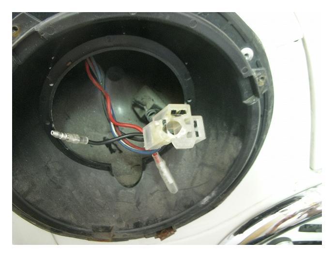 mini / H4バルブコネクター交換