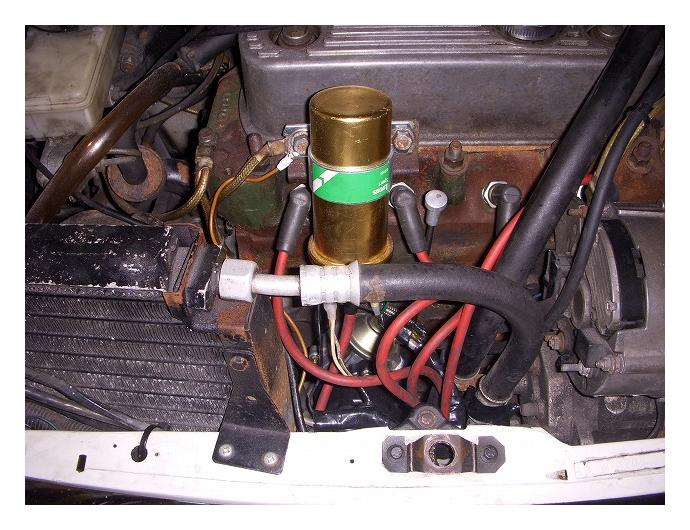 mini / エンジンマウントボルト&デスビ換装