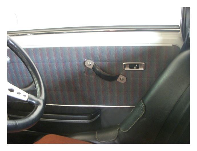 mini / 自作ドアプルハンドルの改良