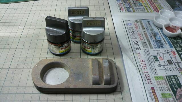 Mr.カラー筆塗りの塗装お助けグッズを作ってみた