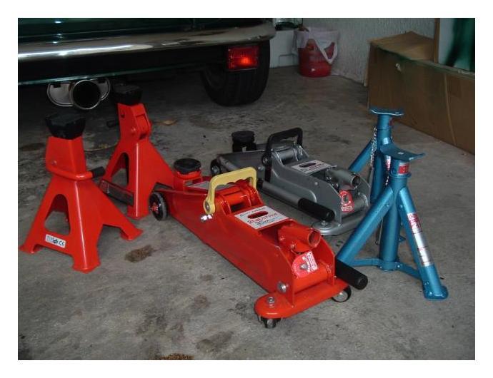 ミニのメンテナンスで揃えた工具類(整備作業系)