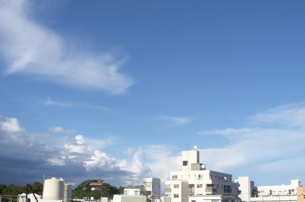 9月末・・・すっかり秋めいてきた沖縄の空