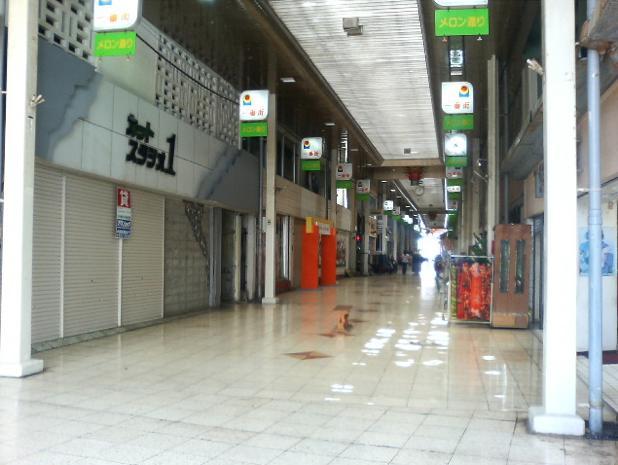 かつて沖縄市で一番の繁華街だった「一番街」