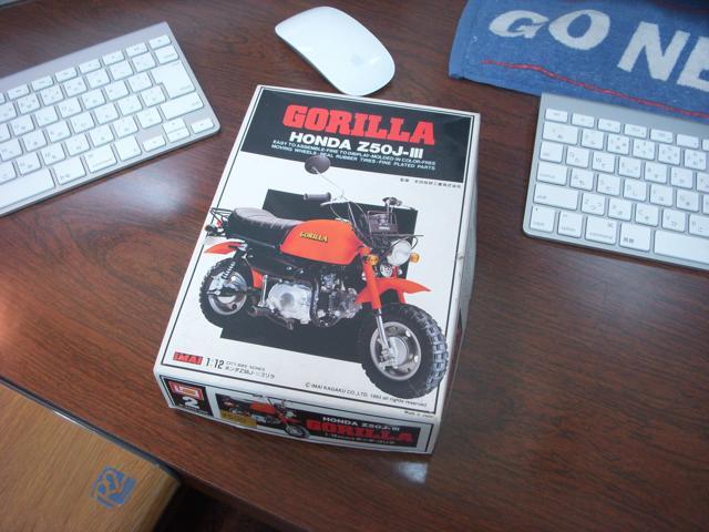 可愛いミニバイク ホンダ ゴリラを作ろう / プラモデル