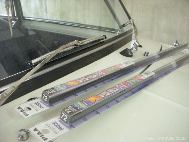 mini / メッキワイパーブレードゴムの国産代用品