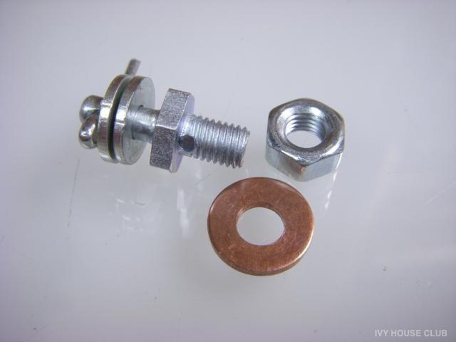 mini / SUキャブスロットルレバーのワイヤー固定部品交換♪