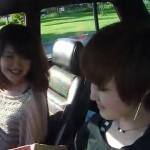 旧車を操る今どきの女の娘がカッコいい「ハコスカ女子」の映像♪