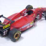 フェラーリ412T1B (BBR1/43)【過去に作った模型シリーズ】