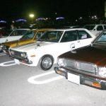 沖縄モーターファンのナイトミーティングで夜の美浜が大パニック!