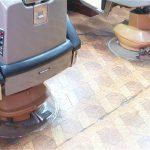 物置から引っ張り出してきた長年放置の理容椅子を整備する‐其の1