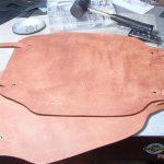 レザークラフト/ 床革でチェアマットを作る-設備の整備Final
