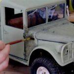 ダッジM37!まるで本物のような走りのRCトラックを作る凄いメイキング映像