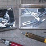 デザインナイフおすすめな使い方 / 使用済み替刃のリサイクル(プラモデル)