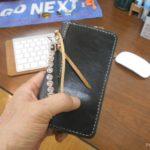 レザークラフト|おしゃれな手帳型スマホケースを手作りしてみよう【型紙あり】