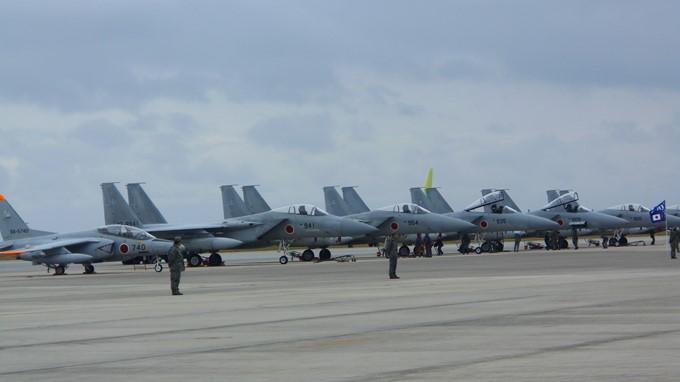 那覇基地配備の戦闘機F-15イーグル