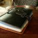 レザークラフト/急な思い付きで作ったA5サイズシステム手帳