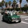 いつもの美浜大駐車場からツーリングへ出発する様子の映像